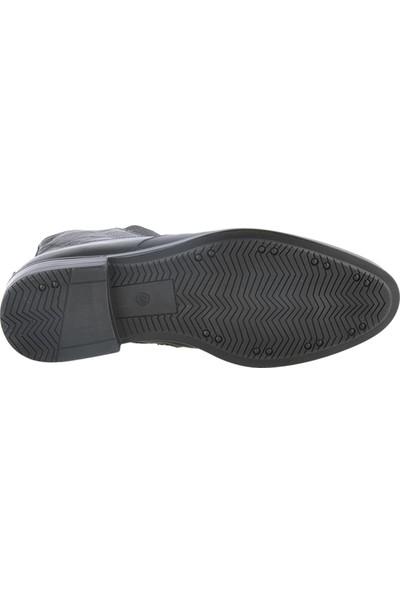 Pierre Cardin 11925251 Siyah Deri Klasik Erkek Bot Ayakkabı