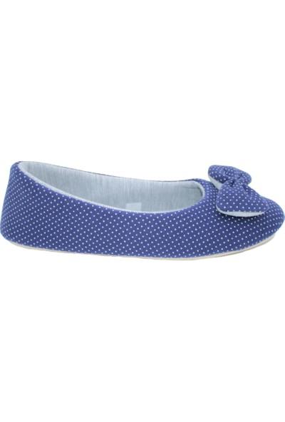 Redplay Kadın Ev Babeti Penye Mavi