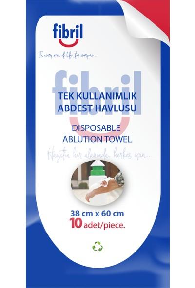 Fibril Tek Kullanımlık Abdest Havlusu 10'lu