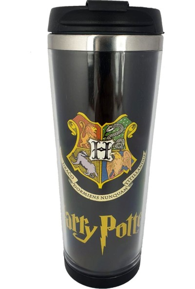 Katarsis Harry Potter Hogward Logo Baskılı Termos Bardak