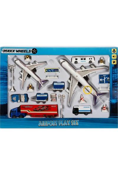 Maxxwheels Havaalanı Oyun Seti