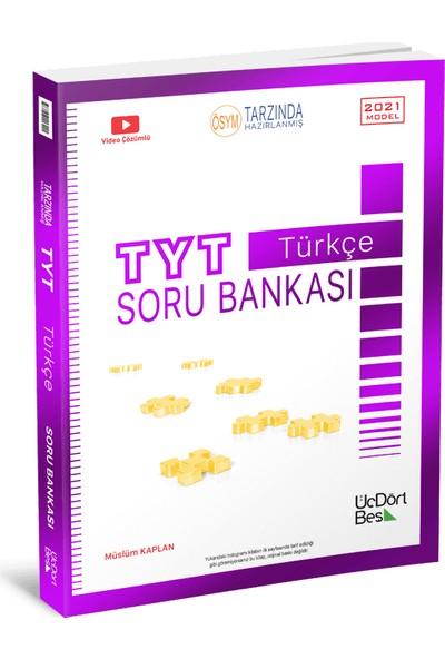 Üçdörtbeş Yayınları Tyt Türkçe Soru Bankası 2021