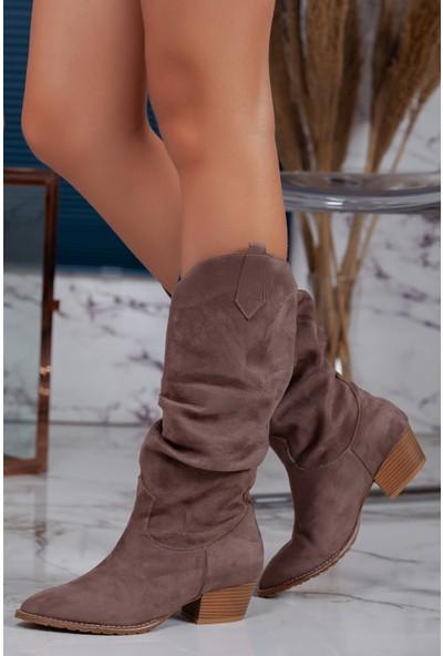 Muggo ILK03 Kadın Çizme