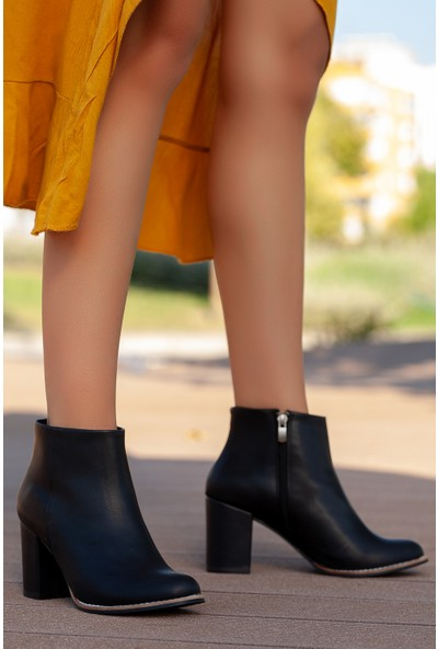 Muggo GZHW718 Topuklu Kadın Bot