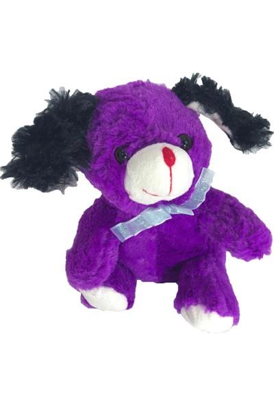 Stuffed Toys Sevimli Eflatun Peluş Tavşan 20 cm