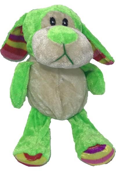 Stuffed Toys Sevimli Peluş Köpek Yeşil 22 cm