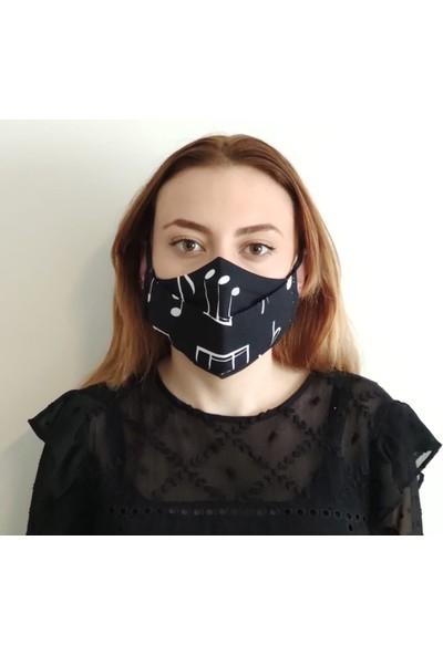 3D Product Sale Bayan Bez Maske, 3 Adet, %100 Pamuklu, Yıkanabilir,