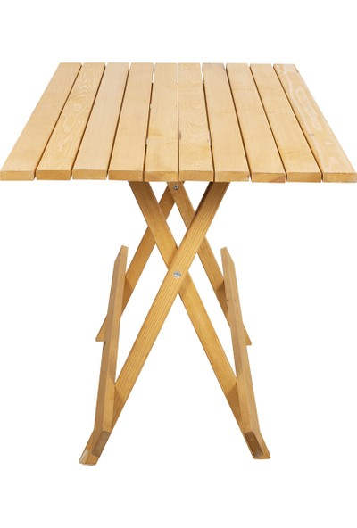 Tk Wood Crafts Ahşap Katlanır Masa
