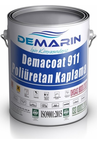 Demarin Demacoat 911 Poliüretan Kaplama 1 kg