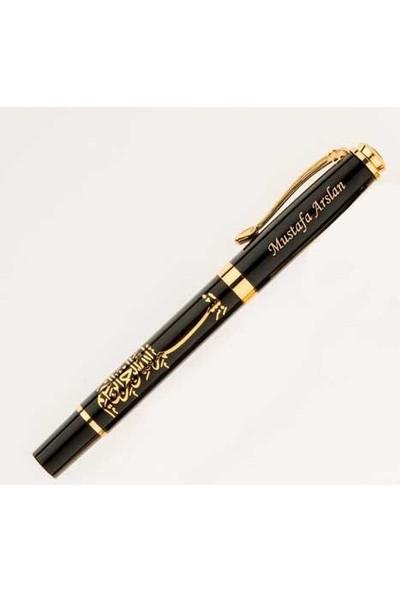 PerakendeShop Kişiye İsme Özel Besmele Kabartmalı Roller İmza Kalemi