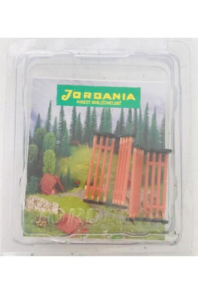 Jordania 1/50 2'li Kahverengi Plastik Bank BY501