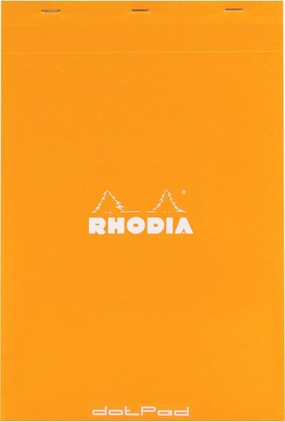 Rhodia Dot Book A4 Noktalı Truruncu Kapak Bloknot 9409142