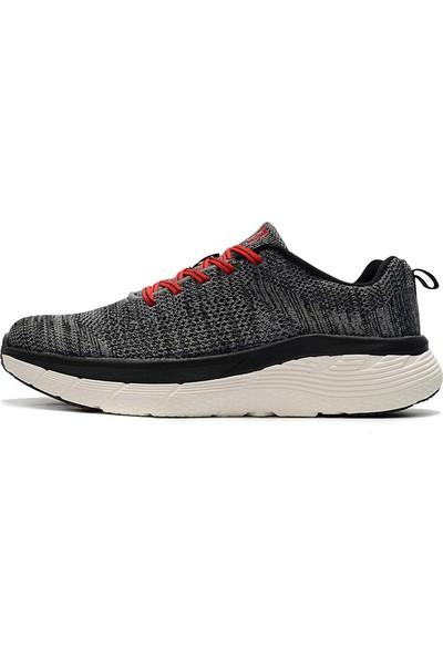 Yukka Treeperı 017 Açık Stil Koşu Ayakkabısı - Işık Gri Siyah