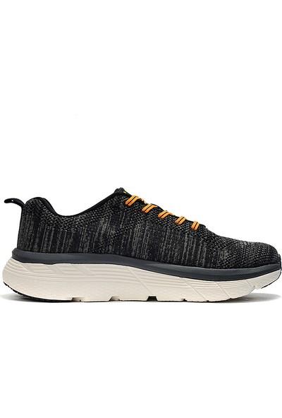 Yukka Treeperı 017 Açık Stil Koşu Ayakkabısı - Koyu Gri Siyah