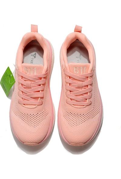 Yukka Treeperı 017 Dış Işık Stil Koşu Ayakkabısı - Pembe