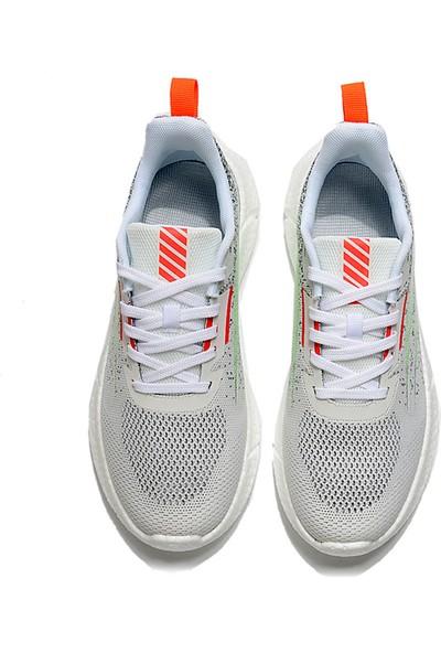 Yukka Treeperı 911 Dış Işık V1 Koşu Ayakkabısı - Beyaz Floresan Yeşil
