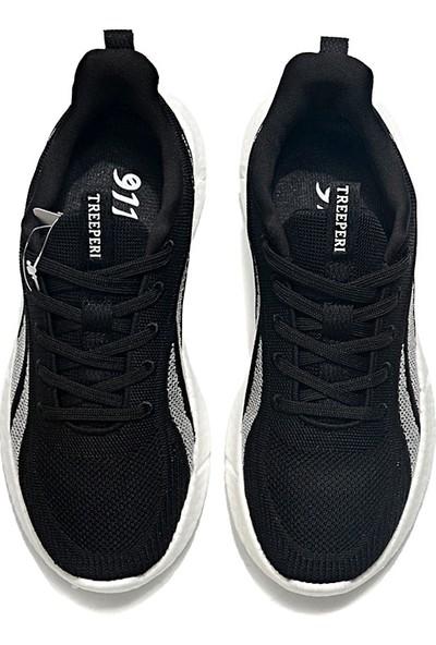 Yukka Treeperı 911 Dış Işık V2 Koşu Ayakkabısı - Siyah Beyaz
