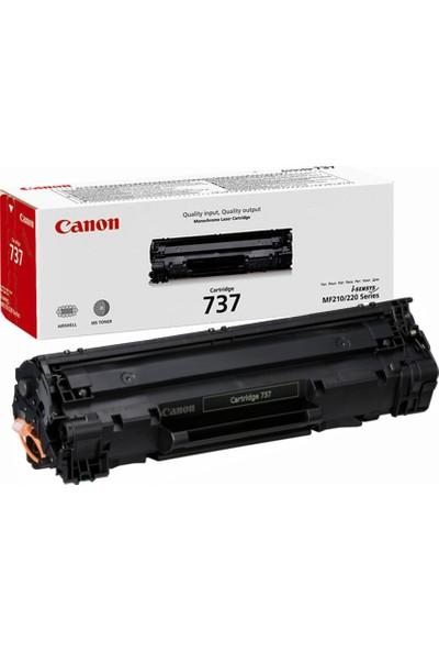 Canon CRG-737-Canon I-Sensys MF-237-MF-237W 2000 Sayfa Siyah Toner