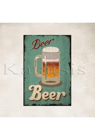 Katarsis Beer Baskılı Ahşap Poster 4
