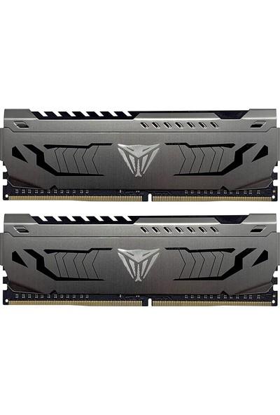 Patriot Viper Steel Dual 16GB(2X8GB) 3600MHz DDR4 Ram PVS416G360C8K