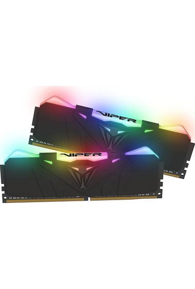 Patriot Viper RGB BLA Dual 16GB(2X8GB) 3200MHz DDR4 Ram PVR416G320C6K