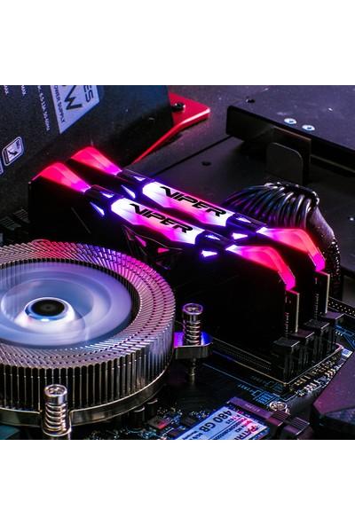 Patriot Viper RGB BLA Dual 16GB(2X8GB) 3600MHz DDR4 Ram PVR416G360C8K