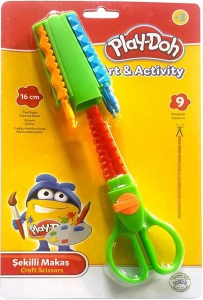 Play-Doh Şekilli Makas
