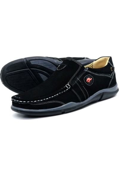 Ayakkabix Tems Deri Yazlık Erkek Ayakkabı