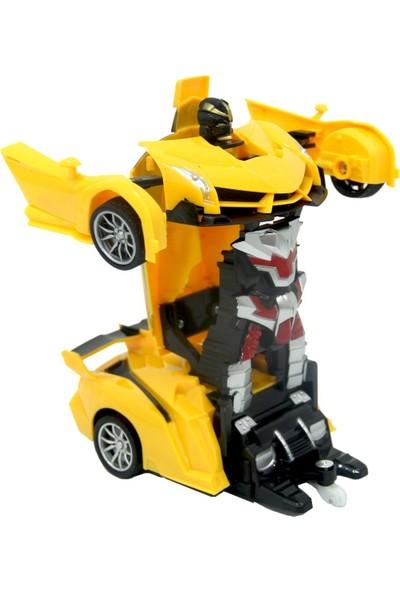 Smiley Uzaktan Kumandalı Robota Dönüşen Araba