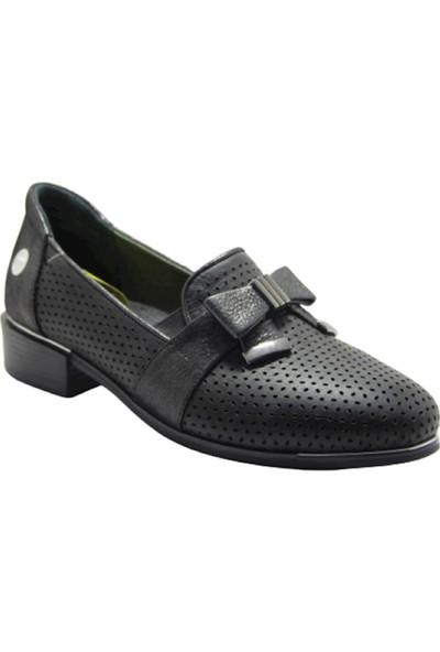 Mammamia D19YA-290 Deri Kadın Ayakkabı