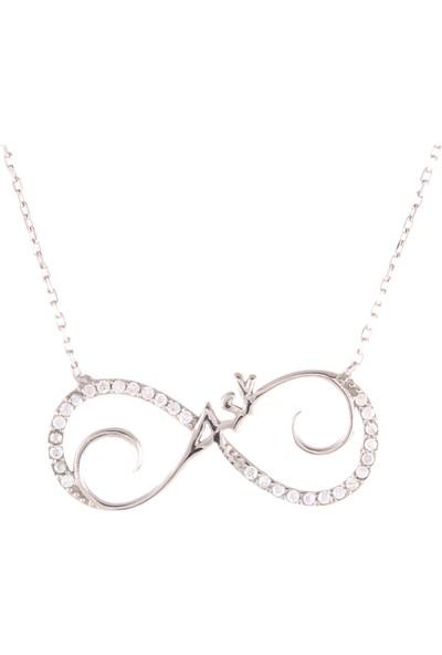 Leta Takı Aşk Gümüş Kolye