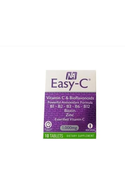 Natrol Easy-C 1000 Mg. 10 Tablet Blister