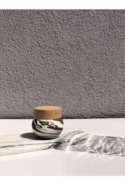 Q.od Vezüv Soya Mum Acı Kahve Beyaz
