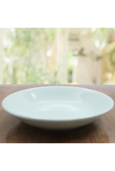 Arna 24 Parça 6 Kişilik Seramik Yemek Takımı-Yeşil
