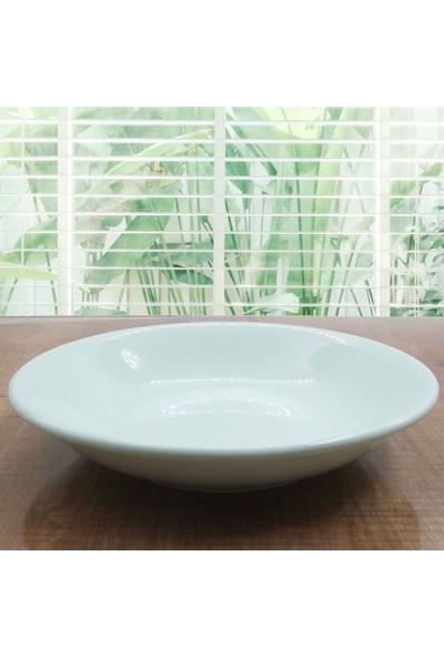 Arna 18 Parça 6 Kişilik Seramik Yemek Takımı-Yeşil