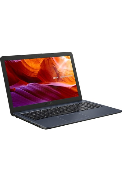 "Asus X543NA-GQ303T Intel Celeron N3350 4GB 128GB SSD Windows 10 Home 15.6"" Taşınabilir Bilgisayar"