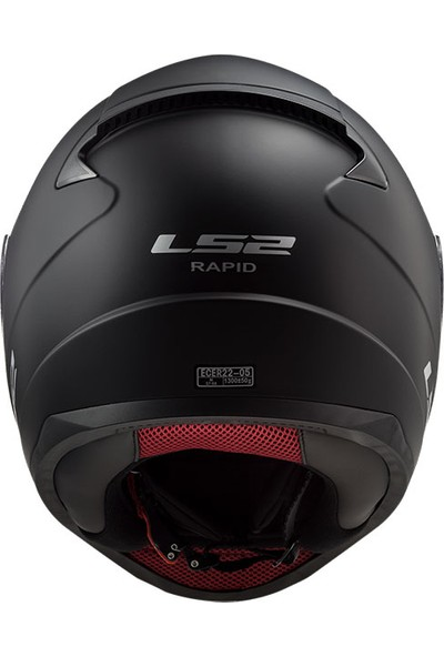 Ls2 FF353 Rapid Mat Siyah Kask
