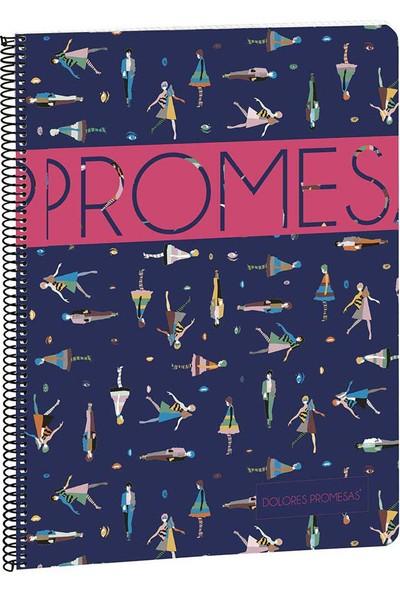 Busquets Dolores Promesas Kareli A4 Defter 80 Yaprak 20752052800