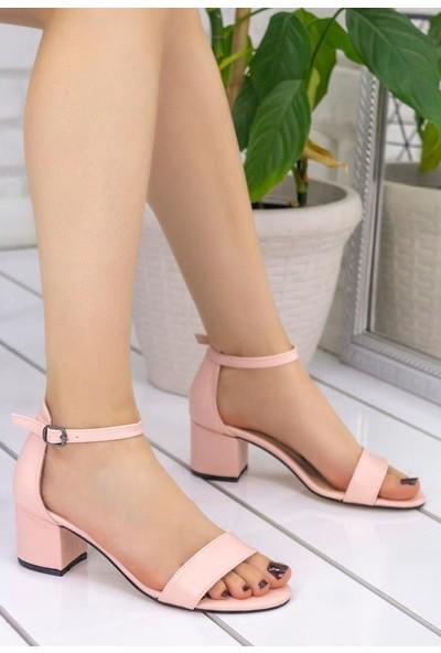 Erbilden Tori Pudra Cilt Tek Bant Sandalet