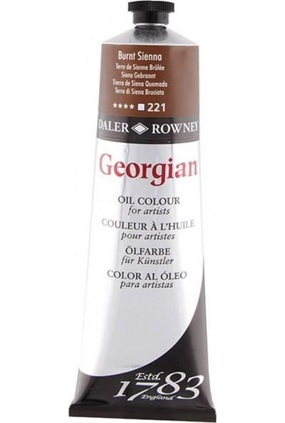 Daler Rowney Georgian Yağlı Boya 38 ml 221 Burnt Sienna