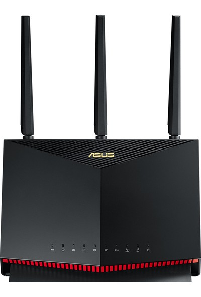 Asus RT-AX86U DualBand-Gaming-Ai Mesh-AiProtection-Torrent-Bulut-DLNA-4G-VPN-Router-Access Point