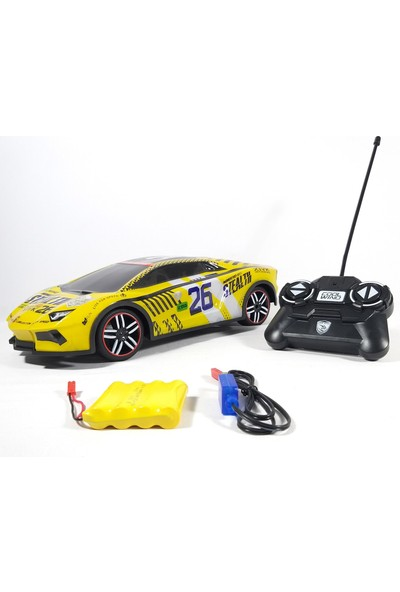 Can-Em Oyuncak Uzaktan Kumandalı 1:14 Cool Wind Yarış Arabası Spin Drift