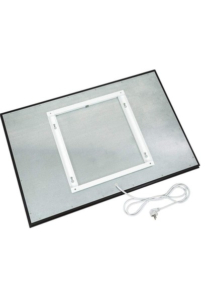 Kuas Isp Glass 700 Siyah Cam Elektrikli Panel Isıtıcı