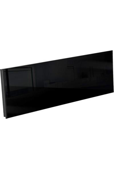 Kuas Isp Glass 550 Siyah Cam Elektrikli Panel Isıtıcı