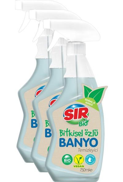 Sır Bio Bitkisel Özlü Banyo Temizleyici 3 x 750 ml