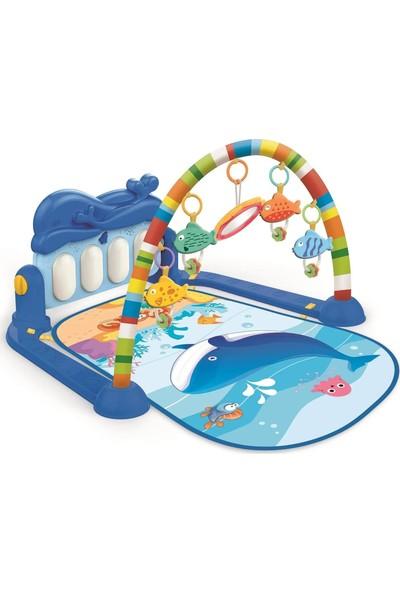Birlik Oyuncak Babycim Balina Piyanolu Oyun Halısı