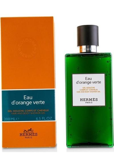 Hermes Eau D'orange Verte Saç ve Vücut Duş Jeli 200ML