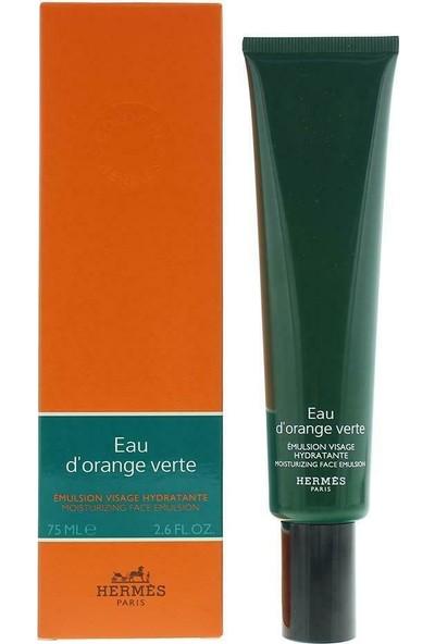 Hermes Eau D'orange Verte Nemlendirici Yüz Emülsiyonu 75 ml / 2.5 Fl.oz.