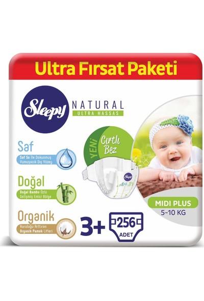 Sleepy Natural Bebek Bezi 3+ Numara Midi Plus Ultra Fırsat Paketi 5 - 10 kg