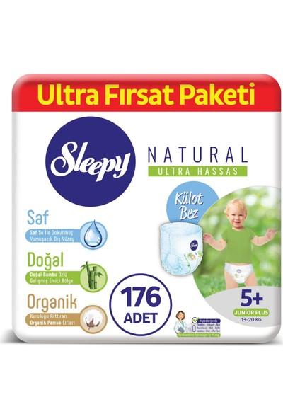 Sleepy Natural Külot Bez 5+ Numara Junior Plus Ultra Fırsat Paketi 13 - 20 kg